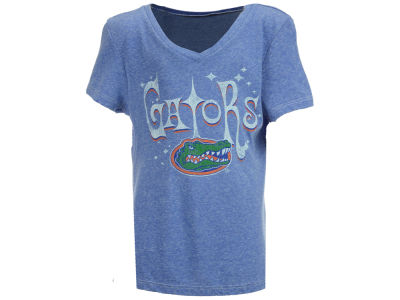 Florida Gators Retro Brand NCAA Girls Youth V Neck T-Shirt