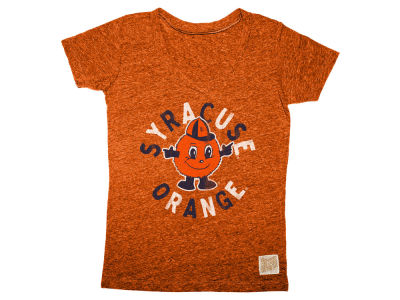 Syracuse Orange Retro Brand NCAA Girls Youth V Neck T-Shirt