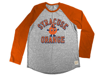 Syracuse Orange Retro Brand NCAA Toddler Raglan Long Sleeve T-Shirt