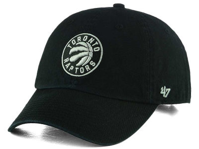 Toronto Raptors '47 NBA Black Gray '47 CLEAN UP Cap
