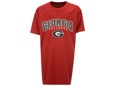Georgia Bulldogs Colosseum NCAA Youth Mesh Poly T-Shirt