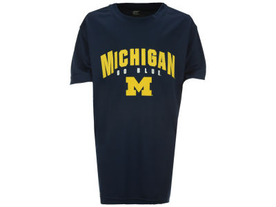 Michigan Wolverines Colosseum NCAA Youth Mesh Poly T-Shirt