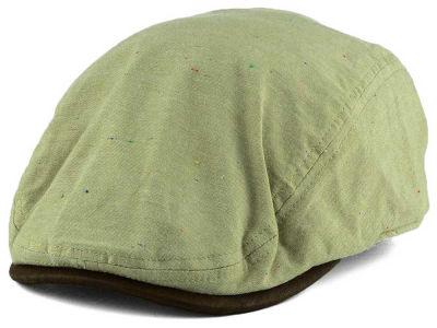 LIDS Private Label Linen Neps Flat Cap