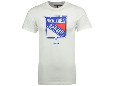 New York Rangers Reebok NHL Men's Primary Logo Special Net T-Shirt