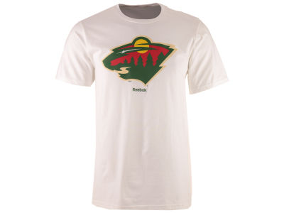 Minnesota Wild Reebok NHL Men's Primary Logo Special Net T-Shirt