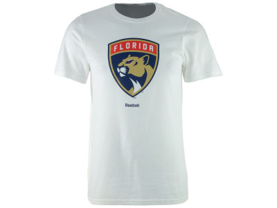 Florida Panthers Reebok NHL Men's Primary Logo Special Net T-Shirt