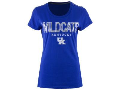 Kentucky Wildcats G-III Sports NCAA Women's Round the Bases Foil T-Shirt