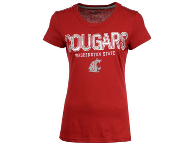 Washington State Cougars GIII NCAA Women's Round the Bases Foil T-Shirt