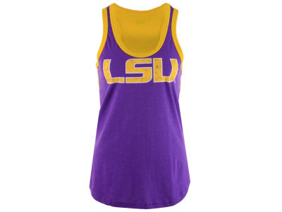LSU Tigers G-III Sports NCAA Women's Power Alley Tank
