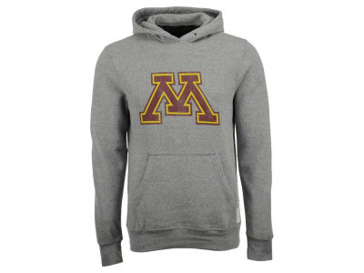 Minnesota Golden Gophers Retro Brand NCAA Men's Tri-Blend Fleece Hoodie