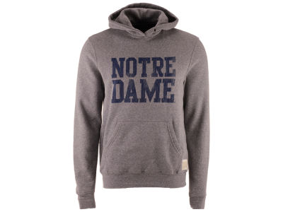 Notre Dame Fighting Irish Retro Brand NCAA Men's Tri-Blend Fleece Hoodie