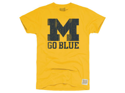 Michigan Wolverines Retro Brand NCAA Men's Vintage Cotton T-Shirt