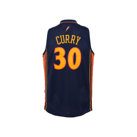 Golden State Warriors Stephen Curry Adidas NBA Youth Soul Swingman Jersey