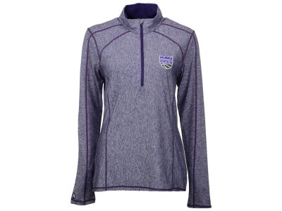 Sacramento Kings Antigua NBA Women's Tempo 1/4 Zip Pullover