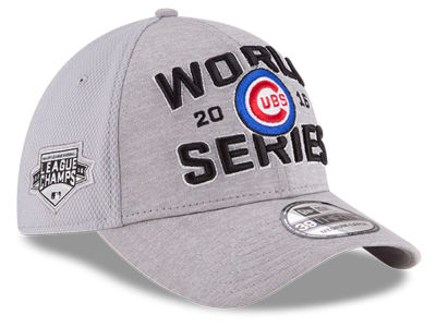 Chicago Cubs New Era MLB 2016 League Champ Series Locker Room 39THIRTY Cap