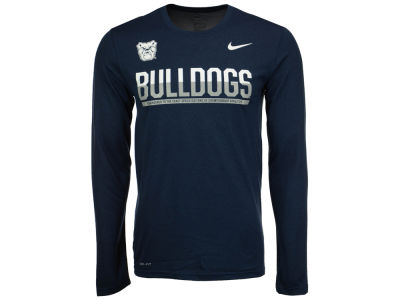 Butler Bulldogs Nike NCAA Men's Legend Staff Sideline Long Sleeve T-Shirt