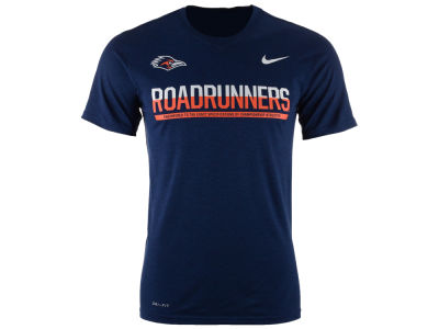 University of Texas San Antonio Roadrunners Nike NCAA Mens Legend Staff Sideline T-Shirt