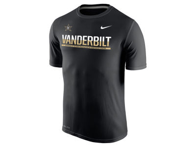 Vanderbilt Commodores Nike NCAA Mens Legend Staff Sideline T-Shirt