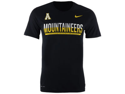Appalachian State Mountaineers Nike NCAA Mens Legend Staff Sideline T-Shirt