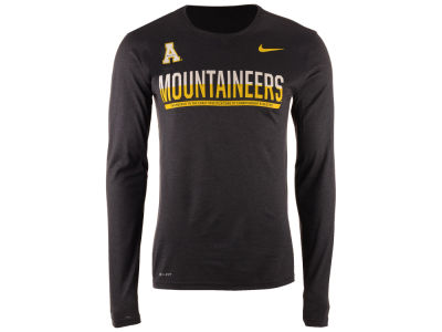 Appalachian State Mountaineers Nike NCAA Men's Legend Staff Sideline Long Sleeve T-Shirt