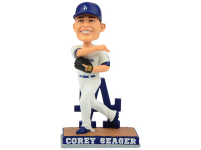 Los Angeles Dodgers Corey Seager Forever Collectibles SMU Bobblehead