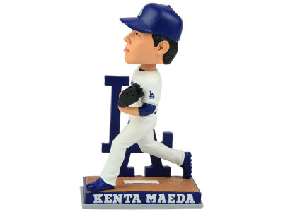 Los Angeles Dodgers Maeda SMU Pitching Bobble