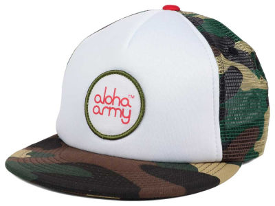 In4mation Aloha Army Trucker Hat