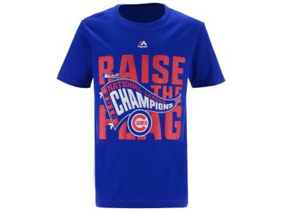 Chicago Cubs Majestic MLB Youth 2016 League Champ T-Shirt