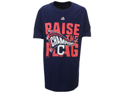 Cleveland Indians Majestic MLB Youth 2016 League Champ T-Shirt