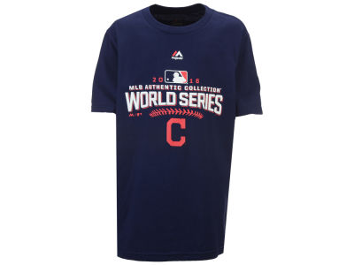 Cleveland Indians Majestic MLB Youth 2016 World Series Participant T-Shirt