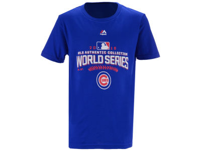 Chicago Cubs Majestic MLB Youth 2016 World Series Participant T-Shirt