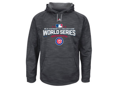 Chicago Cubs Majestic MLB Youth 2016 World Series Participant Hoodie
