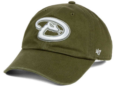 Arizona Diamondbacks '47 MLB Olive White '47 CLEAN UP Cap
