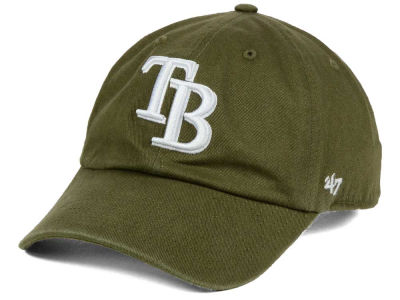 Tampa Bay Rays '47 MLB Olive White '47 CLEAN UP Cap