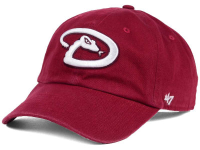 Arizona Diamondbacks '47 MLB Cardinal and White '47 CLEAN UP Cap