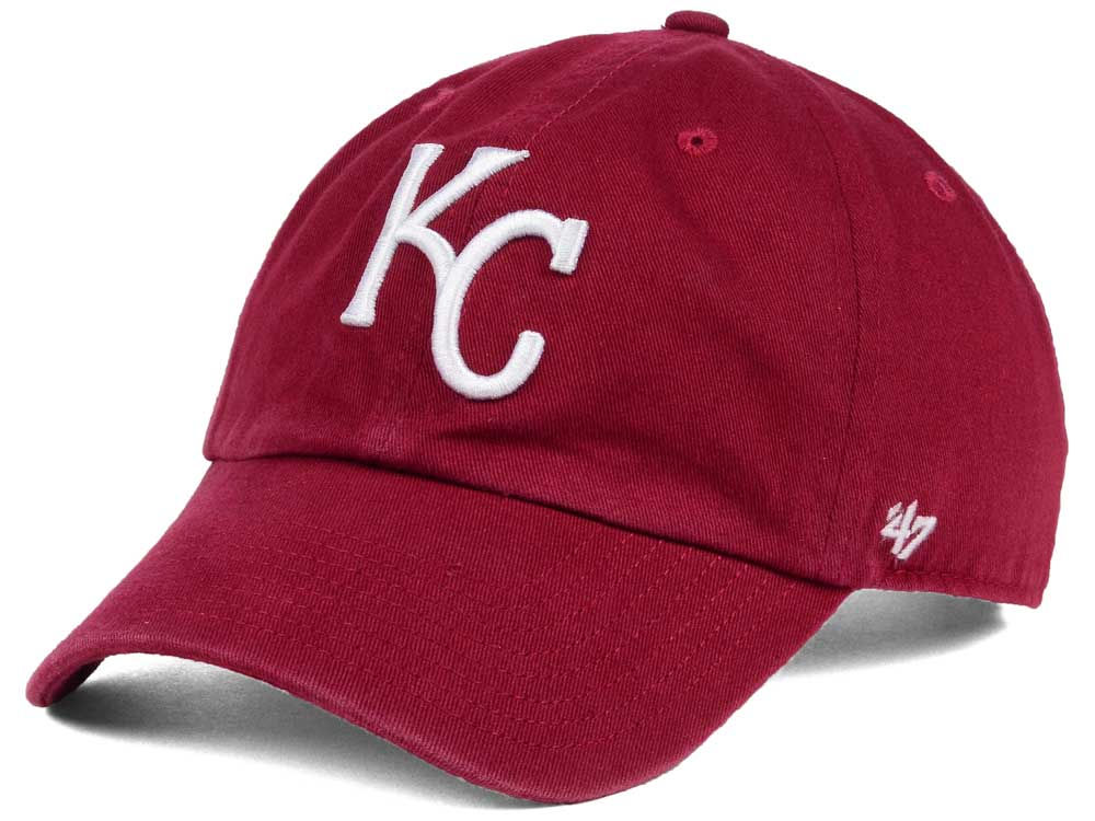 top brands new product pre order best price kansas city royals 47 mlb cardinal and white 47 clean ...