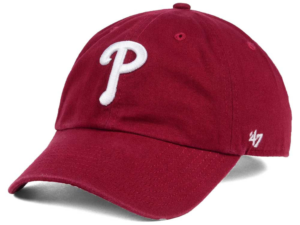 694265961d4c1 ... amazon philadelphia phillies 47 mlb cardinal and white 47 clean up cap  e74c0 ed67d