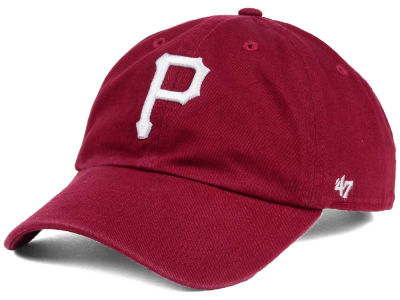 Pittsburgh Pirates '47 MLB Cardinal and White '47 CLEAN UP Cap