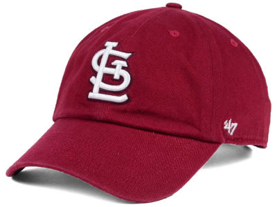 St. Louis Cardinals '47 MLB Cardinal and White '47 CLEAN UP Cap