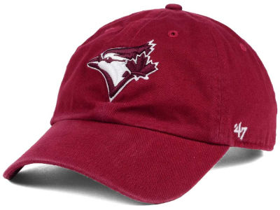 Toronto Blue Jays '47 MLB Cardinal and White '47 CLEAN UP Cap