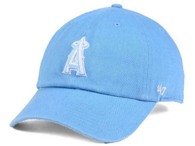 Los Angeles Angels '47 MLB Women's Powder Blue/White '47 CLEAN UP Cap