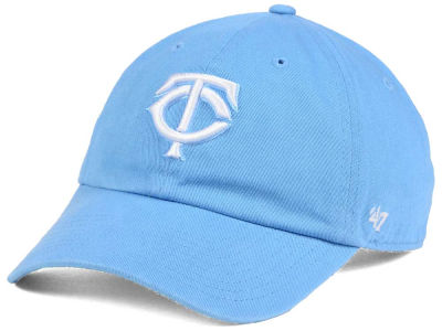 Minnesota Twins '47 MLB Women's Powder Blue/White '47 CLEAN UP Cap