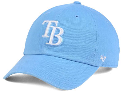Tampa Bay Rays '47 MLB Powder Blue/White '47 CLEAN UP Cap