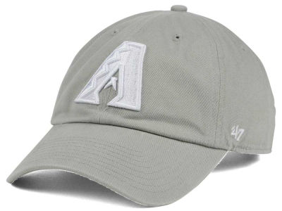 Arizona Diamondbacks '47 MLB Gray White '47 CLEAN UP Cap
