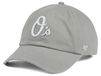 Baltimore Orioles '47 MLB Gray White '47 CLEAN UP Cap