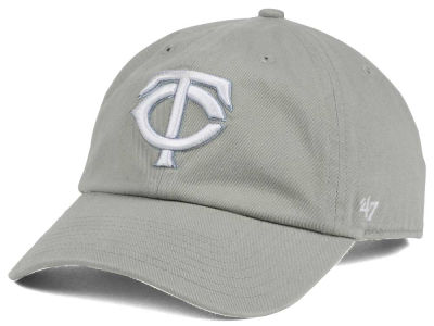 Minnesota Twins '47 MLB Gray White '47 CLEAN UP Cap