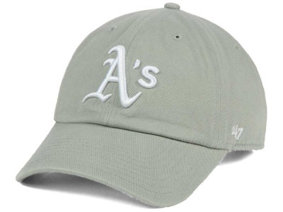 Oakland Athletics '47 MLB Gray White '47 CLEAN UP Cap