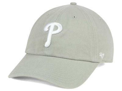 Philadelphia Phillies '47 MLB Gray White '47 CLEAN UP Cap