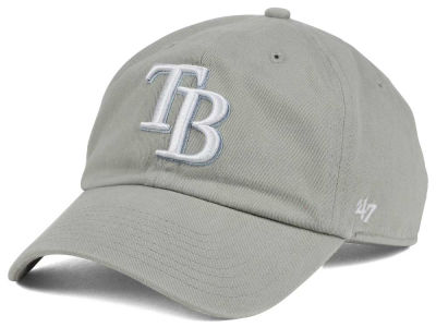 Tampa Bay Rays '47 MLB Gray White '47 CLEAN UP Cap