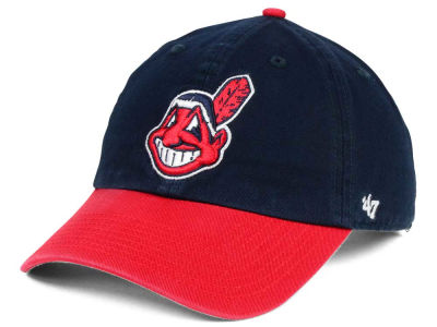 Cleveland Indians '47 MLB On-Field Replica '47 CLEAN UP Cap